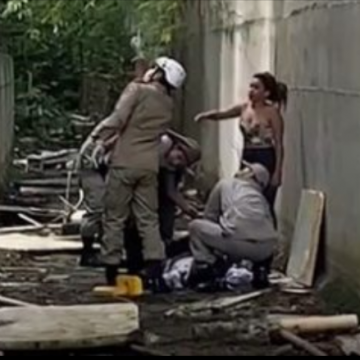 Adolescente cai de 3º andar de escola inacabada no Rio de Janeiro