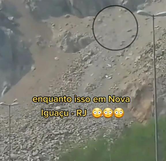 """Video do Tik Tok: """"Pedras da Serra do Vulcão em Nova Iguaçu"""";assista o vídeo"""