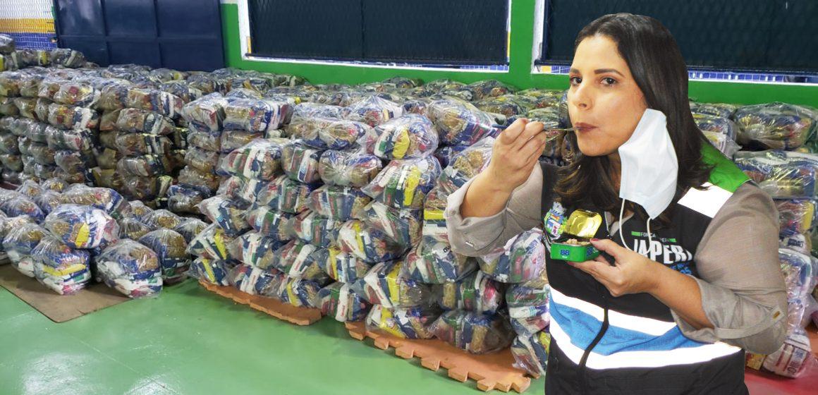 JAPERI: Prefeita desmascara falsa denúncia sobre kit alimentar nas escolas
