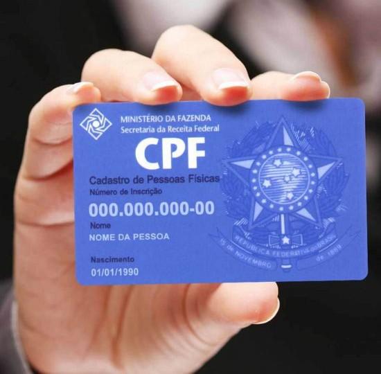 """POLÍTICA:""""Deputados querem que número do CPF seja o único do brasileiro"""""""