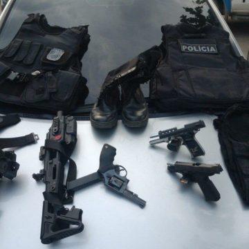"""NA CAÇAPA:""""Policia Militar com informações do Disque Denúncia prendem três milicianos em Belford Roxo"""""""