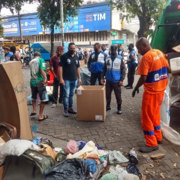 """OPERAÇÃO DESPERTAR:""""Ordem Urbana de Nova Iguaçu colocam ordem no centro comercial e periferia da cidade; com apoio do Proeis"""
