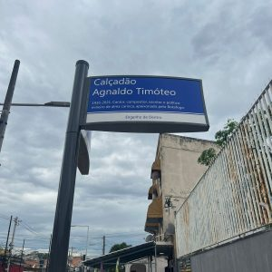 Agnaldo Timóteo ganha nome em calçadão do Rio de Janeiro