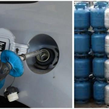 """DE NOVO:""""Preços da gasolina e do gás de cozinha vão subir 7,2% a partir desta sexta"""""""