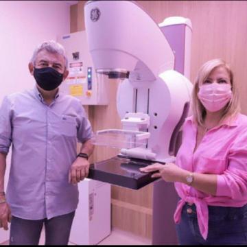 """S.J.MERITI:""""Com novo mamógrafo inaugurado no Centro de Imagens e Diagnósticos, Meriti atenderá milhares de mulheres até fim do ano"""""""