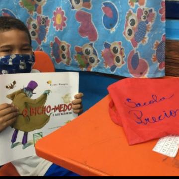 Escola de Caxias lança projeto que incentiva hábito de leitura nos alunos